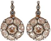 SELIM MOUZANNAR Diamond & pink-gold Beirut earrings