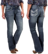 Wrangler Rock 47 Embellished Jeans - Bootcut, Low Rise (For Women)