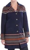 Pendleton Arroyo Virgin Wool Coat (For Women)