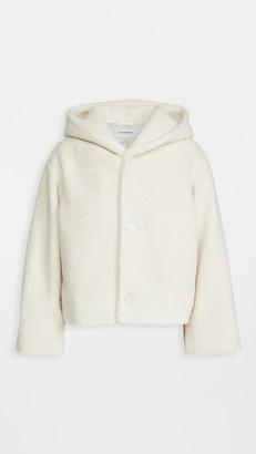 Club Monaco Cropped Faux Fur Jacket