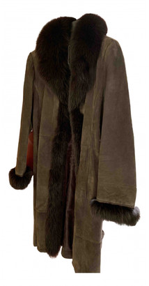C.b. Made In Italy Brown Fox Coats