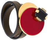 Marni wrap around disc bracelet