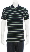 Ralph Lauren Purple Label Striped Polo Shirt