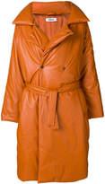 Marios oversized belted coat