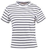 Wemoto BILLY Print Tshirt white/navyblue