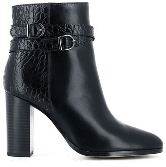 Jonak Annet Leather Pointed Ankle Boots