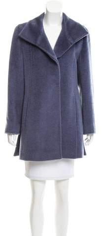 Cinzia Rocca Llama & Wool Coat
