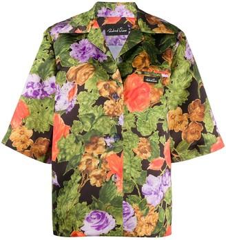 Richard Quinn Hawaiian print short sleeve shirt