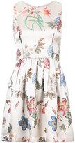 Alice + Olivia Alice+Olivia - floral print dress - women - Polyester/Spandex/Elastane/Viscose - 0