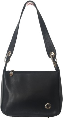 Maurice Lacroix Black Leather Handbags