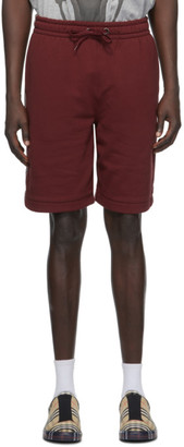 Burberry Red Eagle Shorts