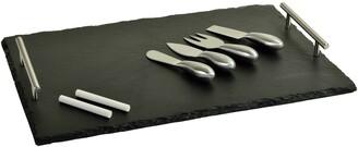 Picnic at Ascot Sardo 5-Piece Cheese Board & Tool Set
