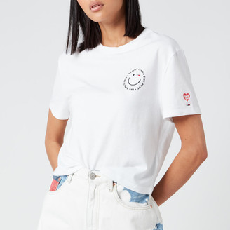 Tommy Jeans Women's Summer Smiley Back T-Shirt