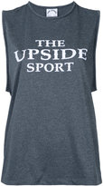 The Upside logo print tank - women - Polyester - XXS