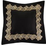 La Perla Icona Bed Cushion - 50x50cm - Black and Sand