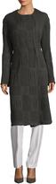 Narciso Rodriguez Women's Wool Jacquard Coat