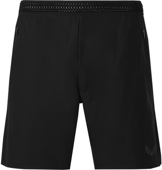 Castore Pro Performance Slim-Fit Mesh-Panelled Stretch-Jersey Shorts
