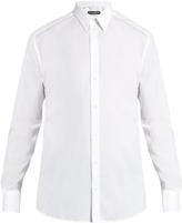 Dolce & Gabbana Gold-fit cotton shirt