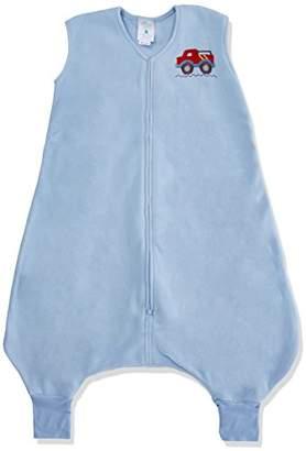 Halo Innovations Big Kids Wearable Blanket Fleece (2-3 Years, Blue Truck)