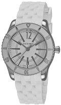 Azzaro Men's AZ2200.12AA.01A Coastline White Dial and Rubber Strap Watch