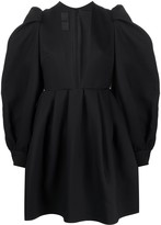 Valentino deep v-neck short dress