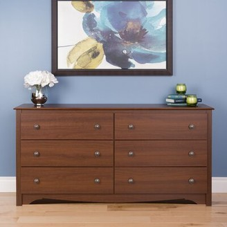 "Andover Millsâ""¢ Hayman 6 Drawer Double Dresser Andover Millsa Color: Cherry"