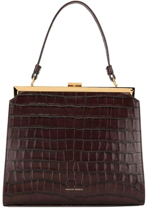 Mansur Gavriel croc-embossed Elegant bag