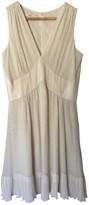 Sessun Ecru Silk Dress for Women