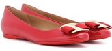 Salvatore Ferragamo Ninna patent leather ballerinas