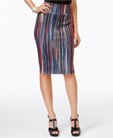 Thalia Sodi Striped Pencil Skirt, Created for Macy's