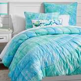 Pottery Barn Teen Dunes Tie Dye Quilt, Full/ Queen Cool