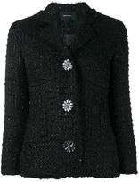 Simone Rocha tweed jacket - women - Polyester/Wool/Nylon/Viscose - 6