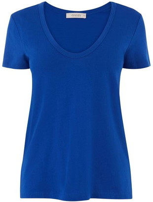 Oasis Soft Scoop Neck T-Shirt