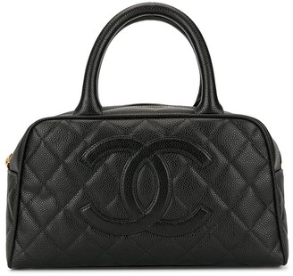 Chanel Pre Owned mini Boston tote