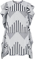 MSGM geometric print dress - women - Cotton - 40
