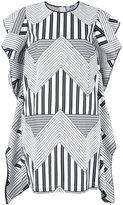 MSGM geometric print dress