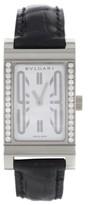 Bulgari Rettangolo RT W39 G Original Diamonds Quartz Womens Watch