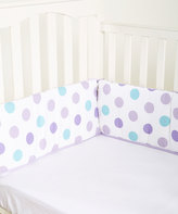 CoCalo Violet Reversible Crib Bumper Set