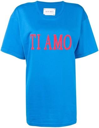 Alberta Ferretti 'Ti amo' printed T-shirt