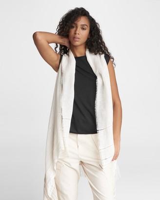 Rag & Bone Kara playa linen blend vest