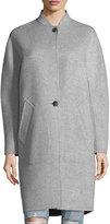 Rag & Bone Darwen Long-Line Wool-Cashmere Long Coat