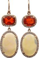 Irene Neuwirth JEWELRY Crystal Opal Earrings