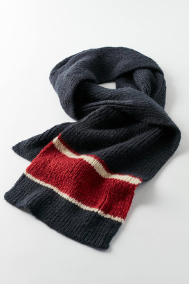 Urban Outfitters Prep Stripe Knit Scarf