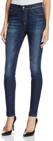 Mavi Jeans Alissa High Rise Skinny Jeans in Dark Brushed Indigo Gold