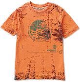 Buffalo David Bitton Big Boys 8-20 Short-Sleeve Burnout Graphic Tee