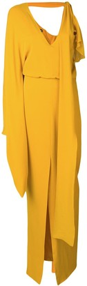 Tom Ford Asymmetric Sleeve Dress
