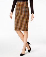 Charter Club Houndstooth Pencil Skirt, Only at Macy's