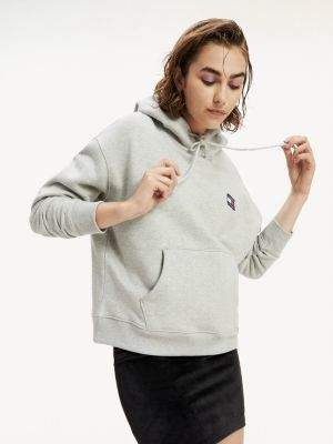 Tommy Hilfiger Organic Cotton Tommy Badge Hoody
