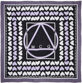 McQ by Alexander McQueen Purple Hearts Scarf