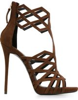 Giuseppe Zanotti Design 'Raquel' laser cut sandals